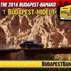 A Budapest – Bamako 2016 hivatalos útvonala – Jelentkezz Te is!