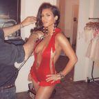 Kim Kardashian megmutatott egy darabot a most született Saint West-ből