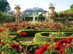 Többszázféle rózsa virágzik az Esterházy-kastély Rózsakertjében Fertődön