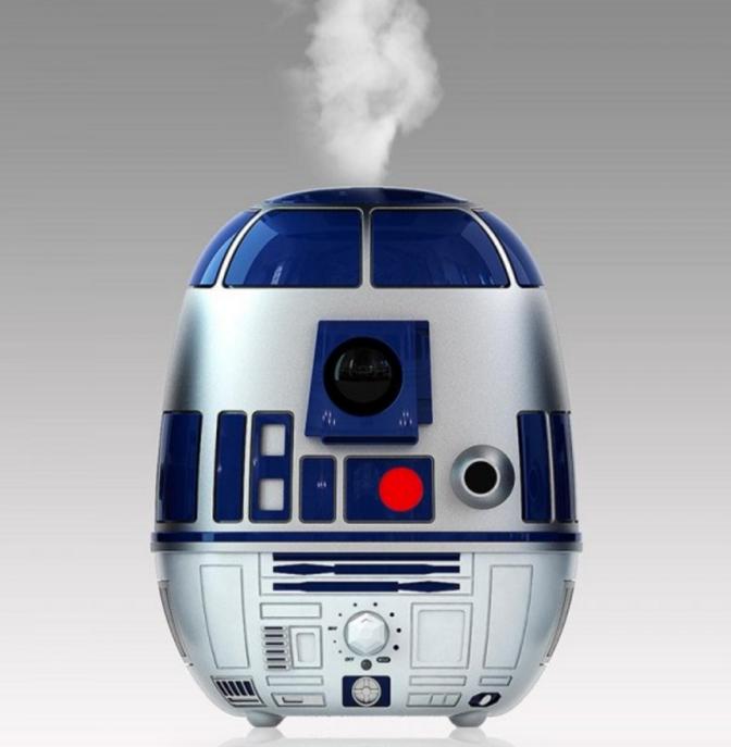 60 dolláros R2-D2 párásító