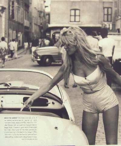 Brigitte Bardot Roger Vadim És Isten megteremté a nőt című 1956-os filmjében