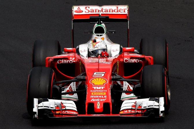 Mogyoród, 2016. július 22. Sebastian Vettel, a Ferrari csapat német versenyzõje a Forma-1-es Magyar Nagydíj második szabadedzésén a mogyoródi Hungaroringen 2016. július 22-én. MTI Fotó: Kovács Tamás