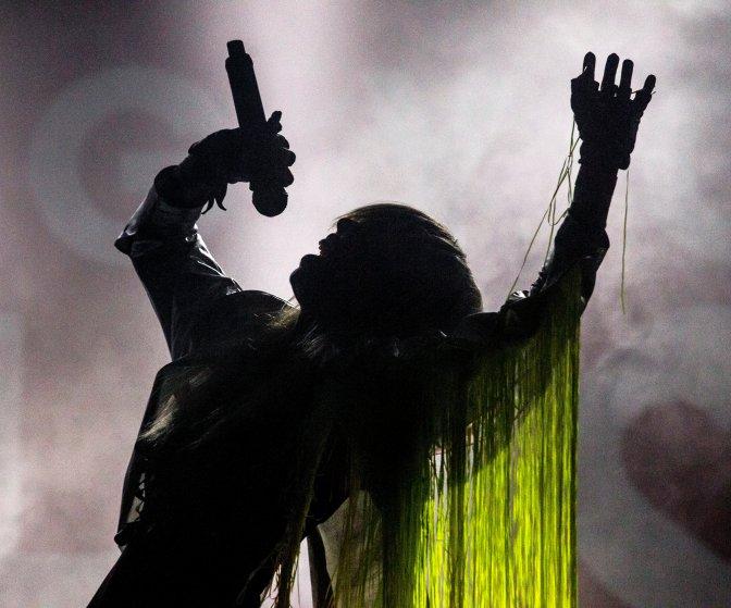 Kapolcs, 2016. július 24. Péterfy Bori énekesnõ a Péterfy Bori & Love Band koncertjén a 26. Mûvészetek Völgye 2016 kulturális fesztiválon 2016. július 23-án. MTI Fotó: Szigetváry Zsolt