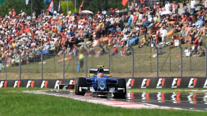 Mogyoród, 2016. július 24. Felipe Nasr, a Sauber csapat brazil versenyzõje a Forma-1-es Magyar Nagydíjon a Hungaroringen 2016. július 24-én. MTI Fotó: Czeglédi Zsolt