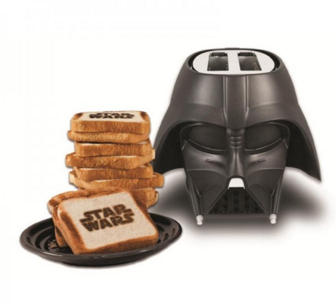 Darth Vader pirítós 50 dodóért. Remélhetőleg a kenyérnek nem lesz sötét oldala...
