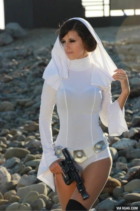Leia hercegnő, ahogyan még sohasem láttad