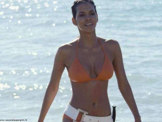 Halle Berry, 49 éves, televíziós producer, filmproducer, model, színésznő, láthattuk az X-Men sorozatban, vagy például a Halj meg máskor című James Bond filmben