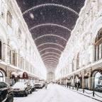 Hideg idő – Csaknem mínusz 30 fokos a hideg Moszkvában