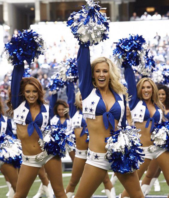 A Dallas Cowboys pompomlányai. Ilyen csajokkal könnyű nyerni!
