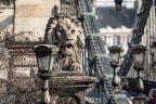 A Lánchíd és a Margit-híd Budapesten
