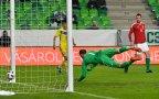 Magyarország – Kazahsztán félidőben 1:3