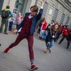 A Hülyén járás 2019 flashmob a fővárosban