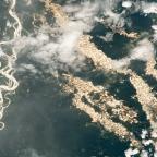 """Az Amazonas """"aranyfolyóit"""" feltáró ritka felvételeket közölt a NASA"""